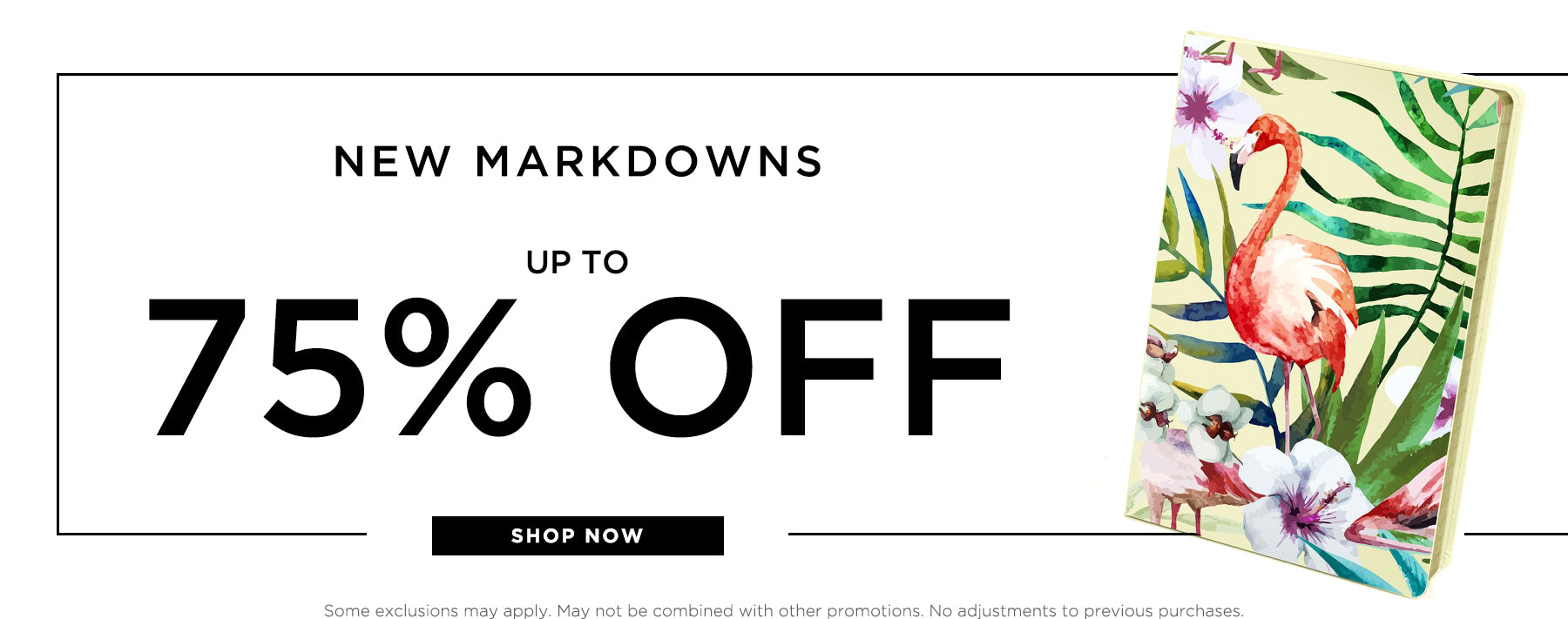 New markdowns, up to 70% off. Shop now.
