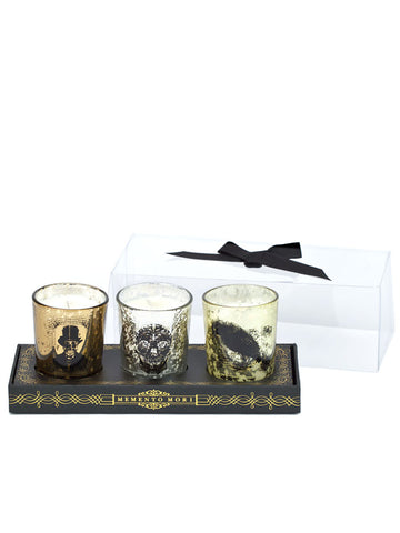 Set of 3 Halloween Votives Candles