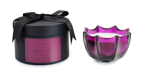 Black Dahlia 15oz Scalloped Candle