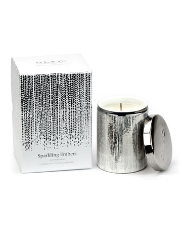 White/Silver Soleil - Sparkling Embers 9 oz Candle