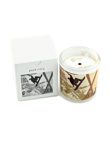Graffiti Candle, Park City - Winter Wood