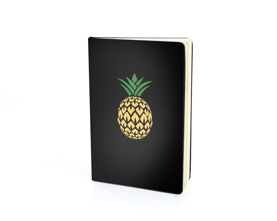 Black Journal - Pineapple W. Glitter