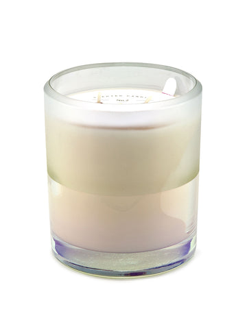 25oz Ion Plated White Candle - Winter Rose & Moscato