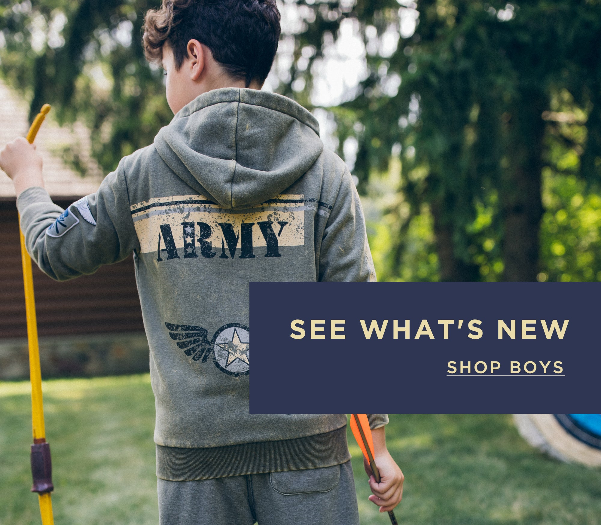 New Styles for Boys - Shop Now