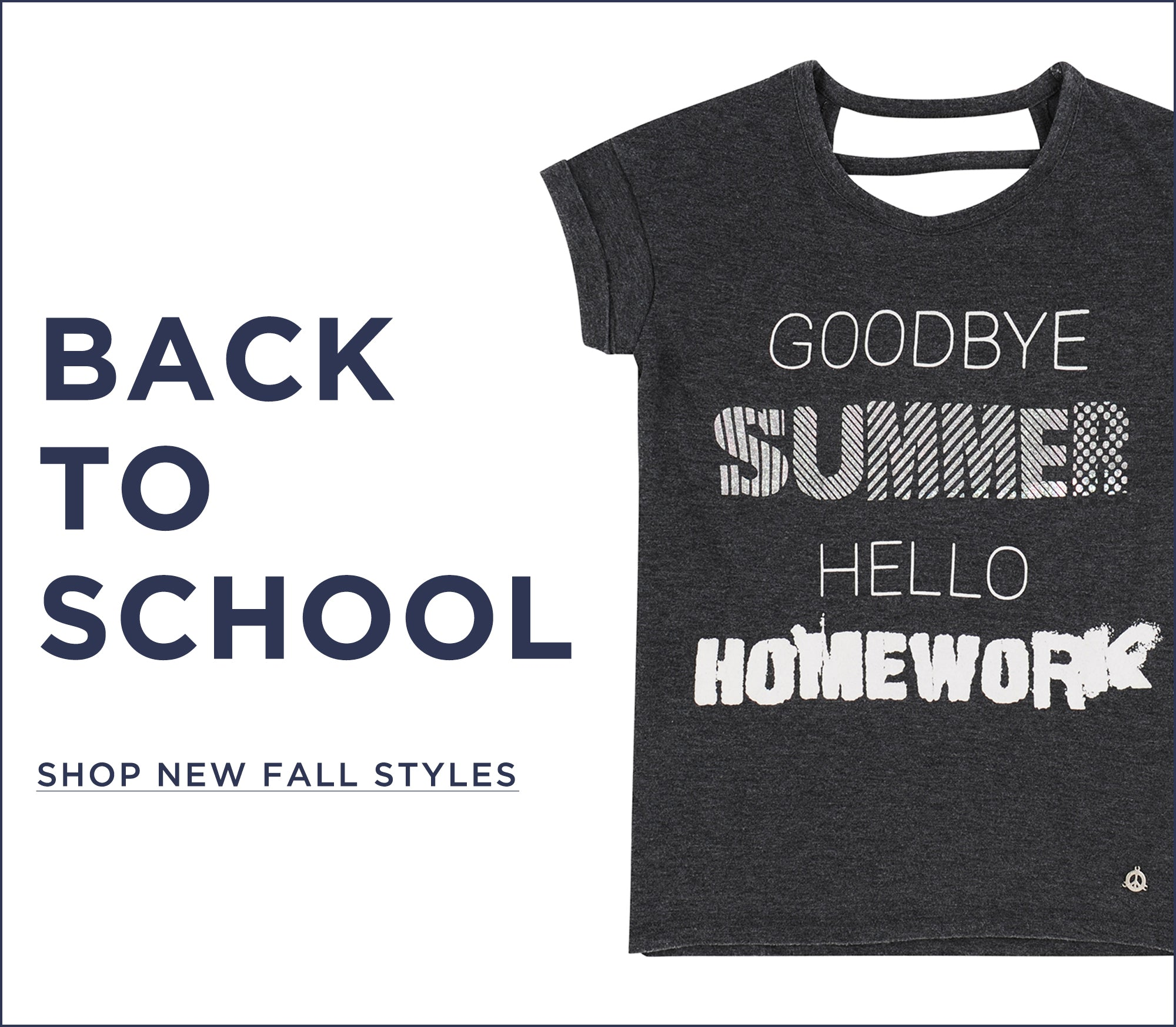 Back to school. Discover our new kids collection.