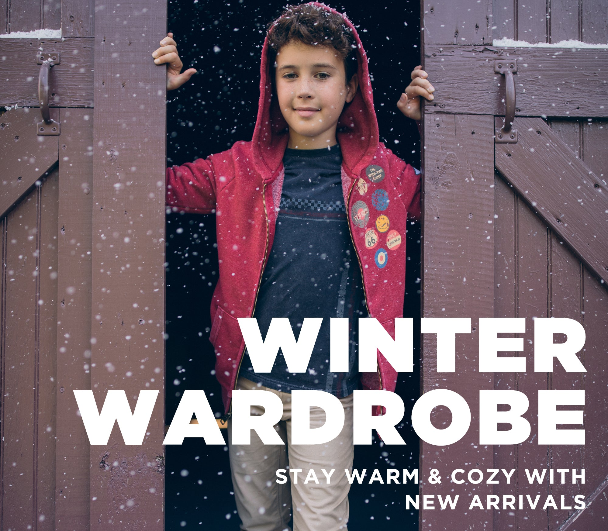 Winter wardrobe. Stay warm & cozy with new arrivals.