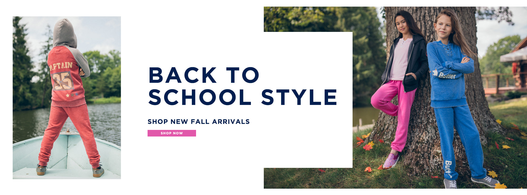Back to School Style. Shop new fall arrivals. Shop now.