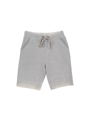 Boys Alloy Destroy Wash French Terry Short