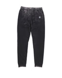 Boys Black Mineral Wash Fleece Jogger 2