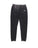 Boys Black Mineral Wash Fleece Jogger 2 Alternate View