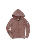 Boys Chocolate Fondant Boys Mineral Wash Fleece Hoodie 2