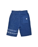 Boys Estate Blue Mineral Wash Fleece Short 2