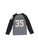 Boys Heather Grey Brooklyn Slub Jersey Long Sleeve Shirt 2 Alternate View