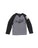 Boys Heather Grey Brooklyn Slub Jersey Long Sleeve Shirt