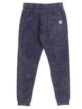 Boys Maritime Blue Boys Mineral Wash Fleece Pants 2