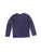 Boys Maritime Blue Famous Mineral Wash Long Sleeve Shirt 2 Alternate View