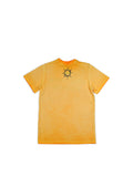 Boys Orange Pepper Boys Mineral Wash Jersey Tee With Print Design 2