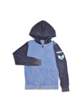 Boys Riviera Boys Colorblock Mineral Wash Hoodie With Print Design 2