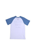 Boys Riviera Boys Colorblock Raglan Tee With Print Design 2