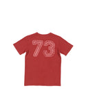 Boys Sun Dried Tomato Flag Football Mineral Wash T-Shirt 2