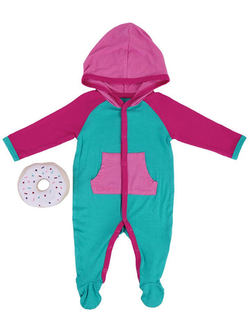 Girls Atlantis Colorblock Onesie