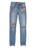 Girls Authentic Blue Super Skinny Super Soft Denim Jean