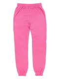 Girls Beetroot Purple Burnout Fleece Varsity Pant 2