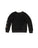 Girls Black Embellished Skull Velour Pullover 2 Alternate View