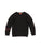 Girls Black Sneakers Terry Pullover 2 Alternate View