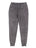 Girls Black Mineral Wash Fleece Jogger Pants 2 Alternate View