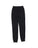 Girls Black Solid Fleece Varsity Pant 2 Alternate View