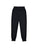 Girls Black Vacation Solid Fleece Skinny Jogger 2 Alternate View