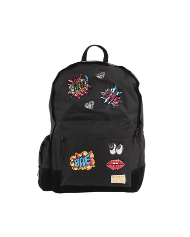 Comic Patches Backpack