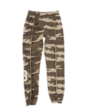 Girls Camo Camo Mineral Wash Fleece Lounge Pant