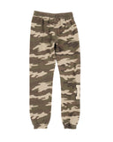Girls Camo Camo Mineral Wash Fleece Lounge Pant 2