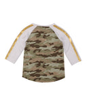 Girls Camo Love Camo Jersey Tee 2