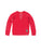 Girls Chili Pepper Stand For Peace Burnout Fleece Lace-Up Pullover 2 Alternate View