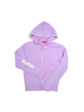 Girls Crocus Petal Camp Patches Mineral Wash Hoodie 2