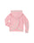 Girls Fairy Tale Winter Unicorn Velour Cross-Back Pullover Hoodie 2 Alternate View