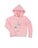 Girls Fairy Tale Winter Unicorn Velour Cross-Back Pullover Hoodie