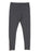 Girls Heather Charcoal Heathered Zipper Legging 2 Alternate View
