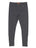Girls Heather Charcoal Heathered Zipper Legging