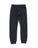 Girls Heather Charcoal Solid Fleece Varsity Pant 2 Alternate View