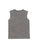 Girls Heather Charcoal Camp With Butter Lace Front Graphic Tank 2 Alternate View
