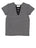 Girls Heather Charcoal Tropical Love Jersey Tee 2 Alternate View