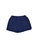 Girls Navy Mineral Wash Fleece Varsity Short 2 Alternate View
