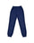 Girls Navy Mineral Wash Fleece Varsity Pant 2 Alternate View