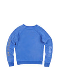 Girls Nebulas Blue Wing Sneakers Fleece Crewneck Pullover 2