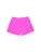 Girls Paradise Pink Burnout Fleece Varsity Short 2 Alternate View