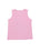 Girls Pastel Lavender Flamingo Burnout Jersey Tank 2 Alternate View